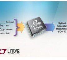 Analog front-end IC linearizes sensors