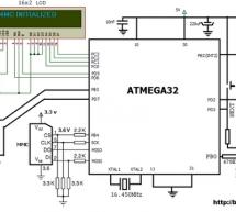 TV remote controller 160KHz High Quality Stereo MMC WAV player using ATMEGA32