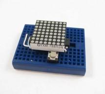 ATTiny2313 Multi-mode LED Matrix Clock