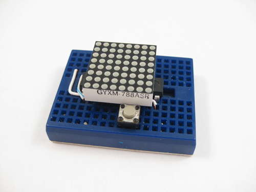 ATTiny2313 Multi mode LED Matrix Clock