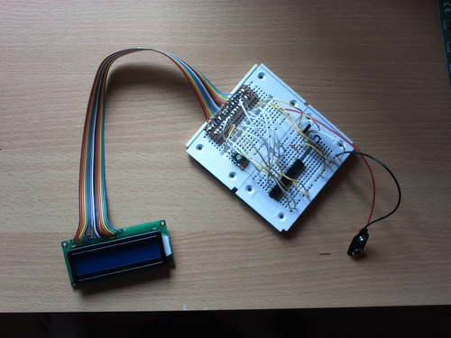 Drive a Stepper Motor with an AVR Microprocessor using ATTiny2313 microcontroller