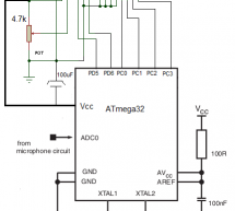 Implementing Discrete Fourier Transform in Atmega32 to make an audio spectrum analyzer