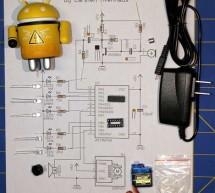 Mechanized Android Figure using Microcontroller ATtiny44A