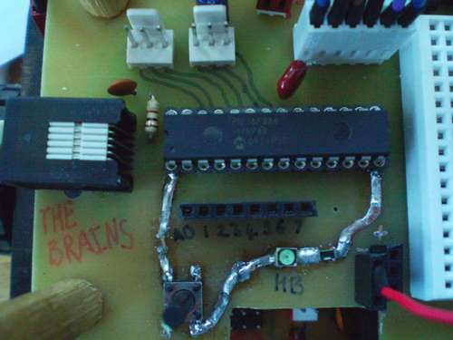 Augmenting a Microcontroller using AVR