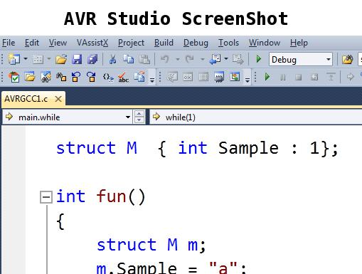 Download AVR Studio Screenshot
