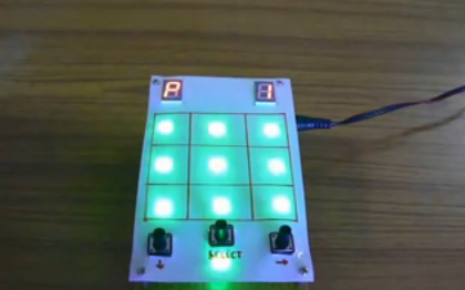 Electronic Tic Tac Toe Electronic Tic Tac Toe with RGB LEDs