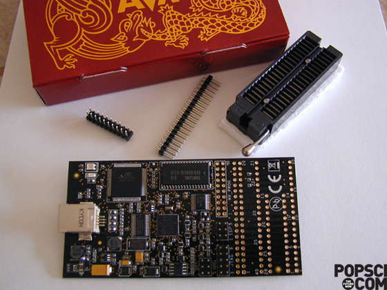 An Absolute Beginner's Guide to 8-Bit AVR Programming-AVR Dragon