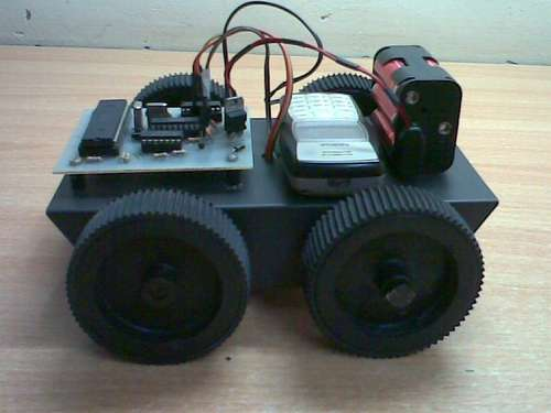 Cellphone Operated Robot Using Microcontrollers