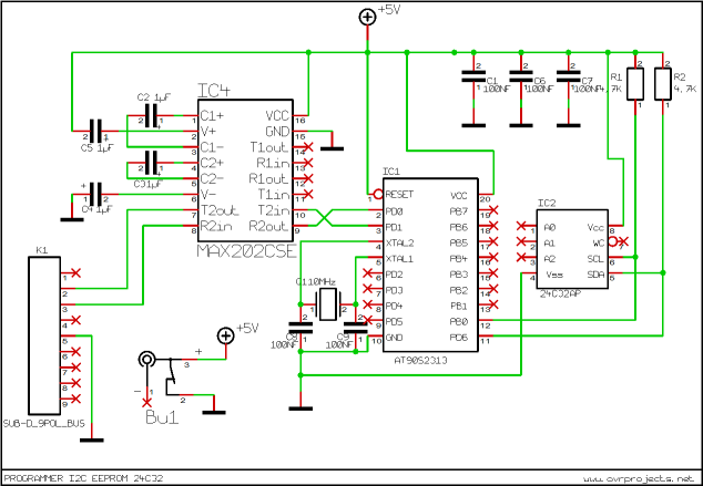 Stepper motor Control with Atmega16
