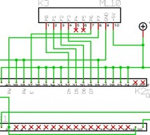 LCD Display On Glass Interface Using AT2313