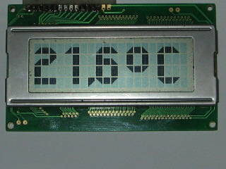 LCD Thermometer TCN77 Using AVR Microcontroller