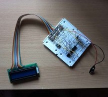 Getting started with LCD's and Microprocessors using ATmega8