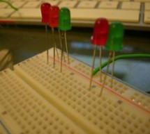 Making a set of traffic lights Using Arduino