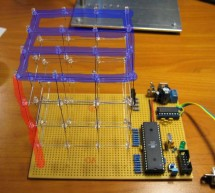LED Cube 4x4x4 using Microcontroller Atmega16