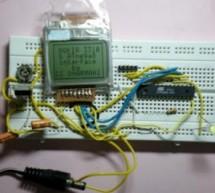 NOKIA 3310 LCD interfacing with ATmega8