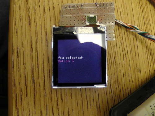 How To Use a Nokia Color LCD using an AVR