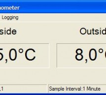 PC Thermometer Using ATTiny2313