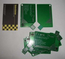 USB PCB Business Card Using ATtiny85 Microcontroller