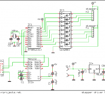 PC Steppermotor Driver Using AT2313 µ-controller