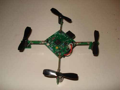 Picopter using Microcontroller ATmega128RFA1