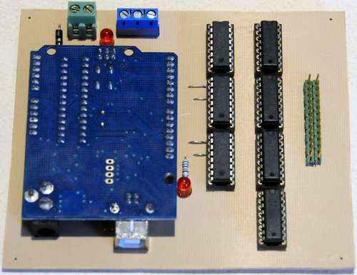 The Word Clock - Arduino version using ATMega168 microcontroller