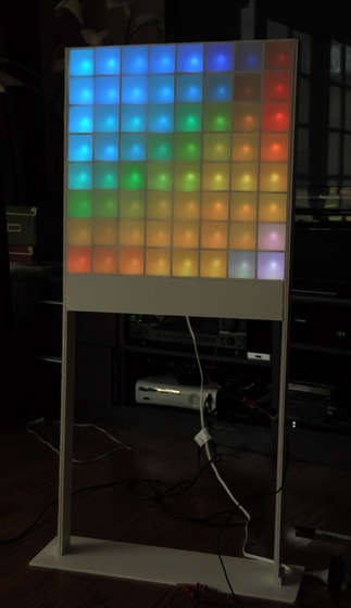 Lampduino - an 8x8 RGB Floor Lamp