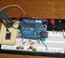 Arduino R/C Lawnmower (painted) using Atmega168 microcontroller