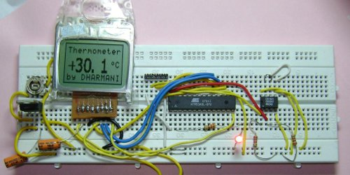 EPROM Display using ULN2308A microcontroller