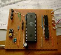 DIY TiX Clock using ATMEGA16 AVR microcontroller