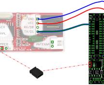 USB RFID Reading Keyboard using USnooBie