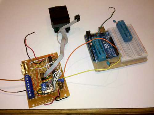 Using Arduino to communicate with embedded project using AVR ATMEGA microcontroller