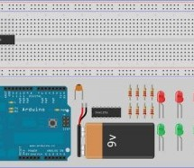 How to add more Outputs to your Microcontroller using 74HC595 microcontroller