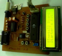 Make-Yourself ATmega32 Starter's Kit with LCD, I2C, SPI, RTC, ADC interfaces