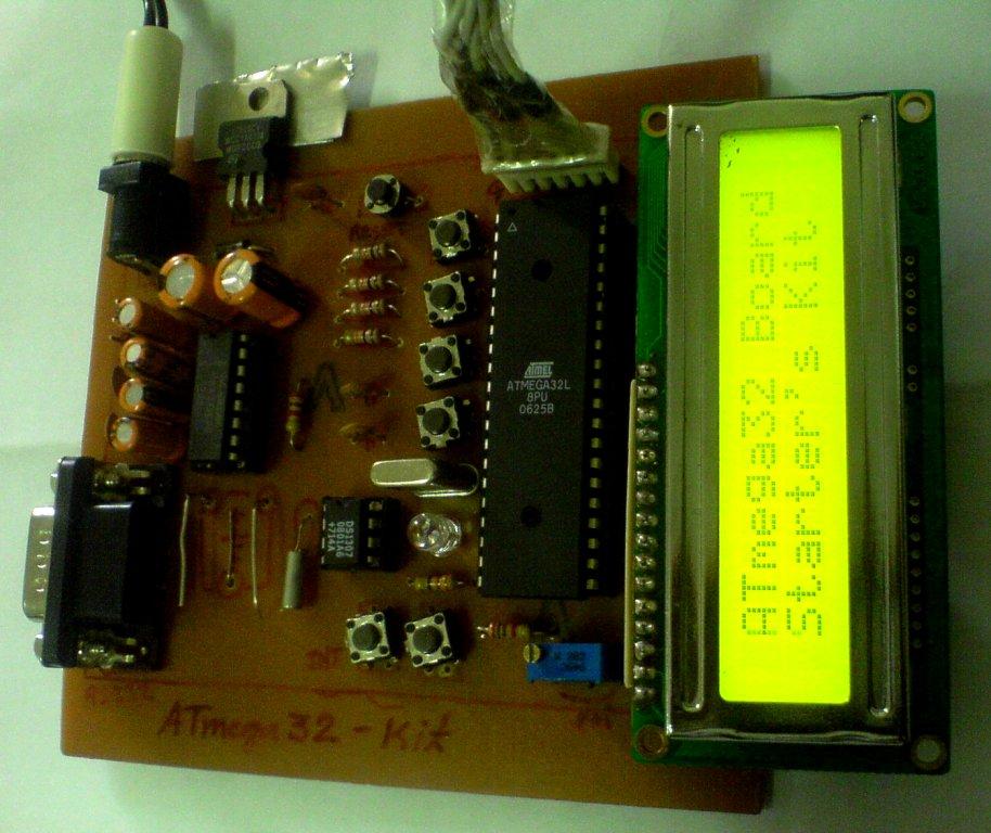 atmega32 board