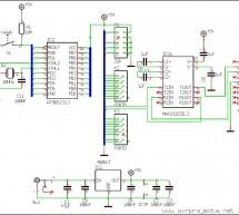ATTiny2313 Board RS232