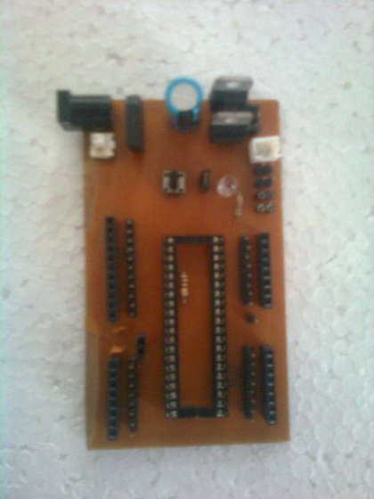 AVR32 Development Board at Home