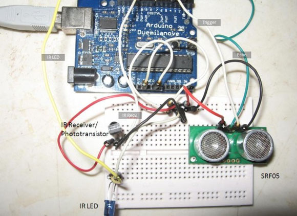 Control Electronics using an Arduino and Infrared LEDs