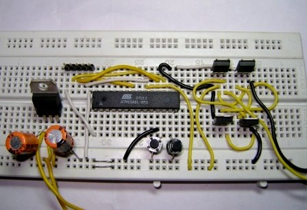 Simple Pwm Dc Motor Control Using Mosfet H Bridge With Avr