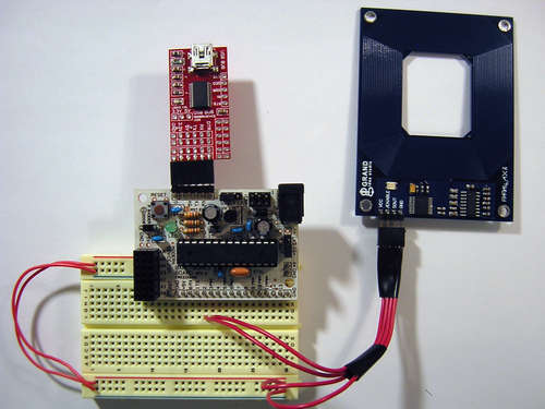 AVR/Arduino RFID Reader with UART Code in C