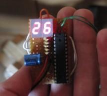 DIY Digital Thermometer Using ATMega8