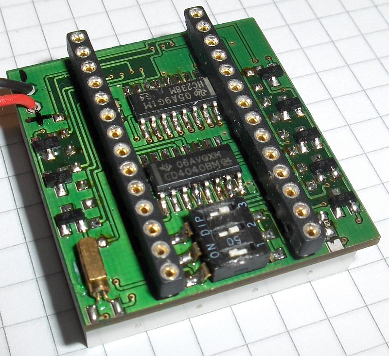 EPROM Display PCB