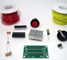 Using AtTiny2313 microcontroller Build an electronic polyhedral die