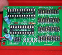 Using max7219 microcontroller Build an electronic score keeper/storage box