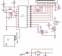 AVR GPS Locator using avr microcontroller