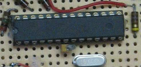 Rechargeable Battery Capacity Tester using Microcontroller ATMega168