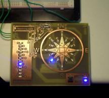LED wind indicator Using atmega8 Microcontroller