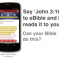 eBible Launches The World's First Voice-Navigated Bible