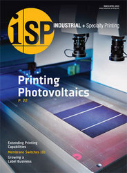 A New Magazine for Industrial Printing Professionals: Industrial + Specialty Printing Debuts First Edition