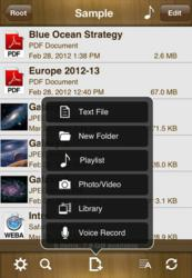 AirDisk Pro Turns iOS Devices into Secure Wireless Flash Drives for Music, Images, Movies, Spreadsheets, Presentations & More
