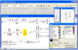 MathMagic v7.0 for Windows - Equation Editor Adds PDF support and More Math Fonts